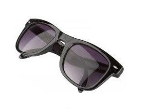 Összehajtható napszemüveg 400 UV védelemmel - uniszex / FEKETE