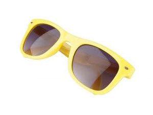 Összehajtható napszemüveg 400 UV védelemmel - uniszex / SÁRGA