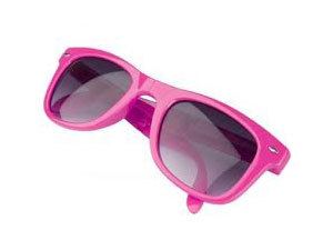 Összehajtható napszemüveg 400 UV védelemmel - uniszex / RÓZSASZÍN