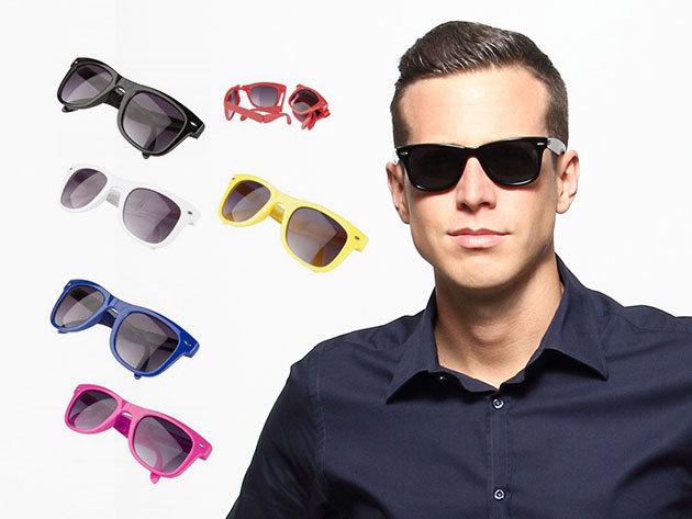 Összehajtható napszemüveg 400 UV védelemmel - uniszex, a legmenőbb dizájn, trendi színekben