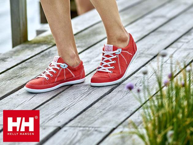 Helly Hansen W LATITUDE 92 női vászoncipő vitorlás dizájnnal, 36-41 méretig, cserélhető EVA talpbetéttel