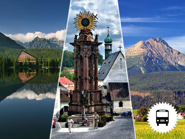 Szlovákiai buszos kirándulások, látogatás a Felvidék három legszebb városába: Bajmóc, Körmöcbánya, Selmecbánya  /fő