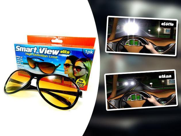 Smart view elite napszemüveg - hihetetlen színek, optikai minőségű lencsék, éleslátás, HD minőségben