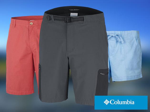 COLUMBIA rövidnadrágok nőknek és férfiaknak - általános utcai viseletre / túrázáshoz - prémium minőség elérhető áron