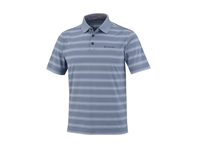 Columbia Big Smoke II Stripe Polo Shirt férfi galléros póló EM6930_555 - S