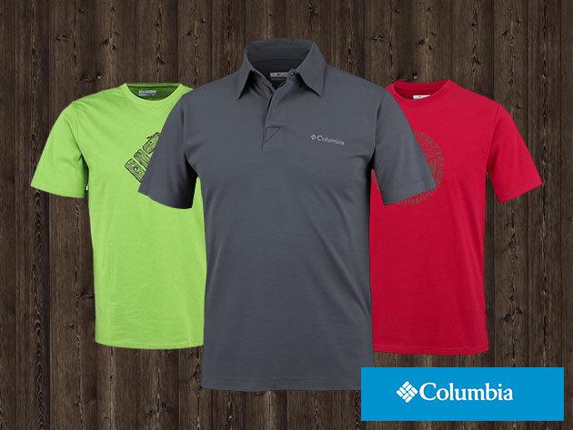 COLUMBIA férfi pólók általános utcai viseletre, akár UV védelemmel és izzadságkezelő technológiával - prémium minőség elérhető áron