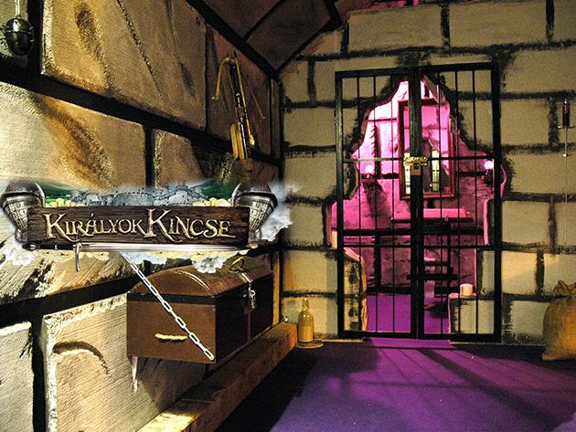 Szabadulós játék 2-7 fő részére családoknak, baráti társaságoknak a belvárosban - Királyok Kincse - Nektek sikerül kijutni 60 perc alatt?