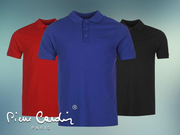 Pierre Cardin férfi galléros póló divatos színekben, S-XXL méretig / laza elegancia, kortól függetlenül