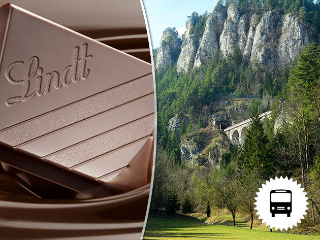 Semmering, buszos utazás Ausztriába Lindt csokigyár-látogatással / 1 napos non-stop kirándulások júniustól novemberig / fő