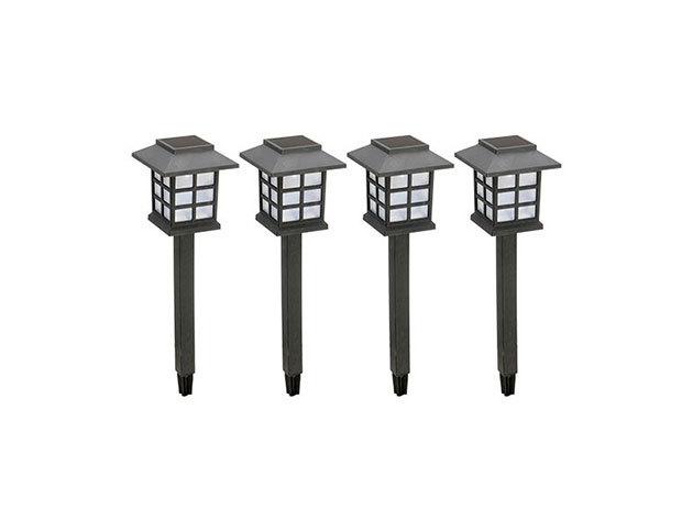 Napelemes lámpa (4-es kiszerelés)