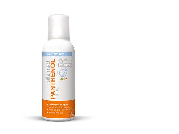 Panthenol Forte Baby 6% spray150 ml - A legkisebbekenek is