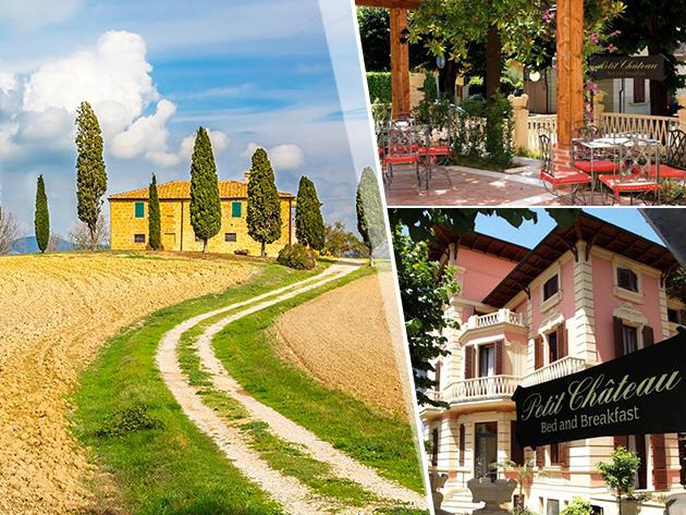 Toszkána, Montecatini Terme - 3 nap/2 éjszaka szállás 2 fő részére reggelivel - Petit Chateau B&B