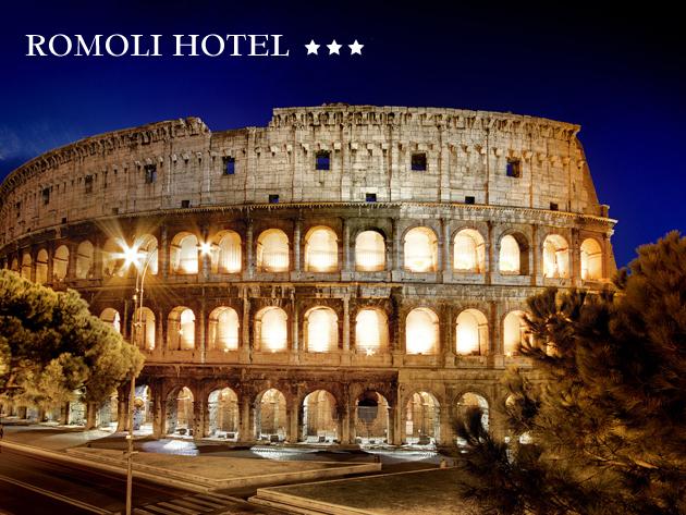 RÓMA,  Il Romoli Hotel***  - szállás 2 vagy 3 éjszakára 2 fő részére reggelivel / hosszú beválthatóság