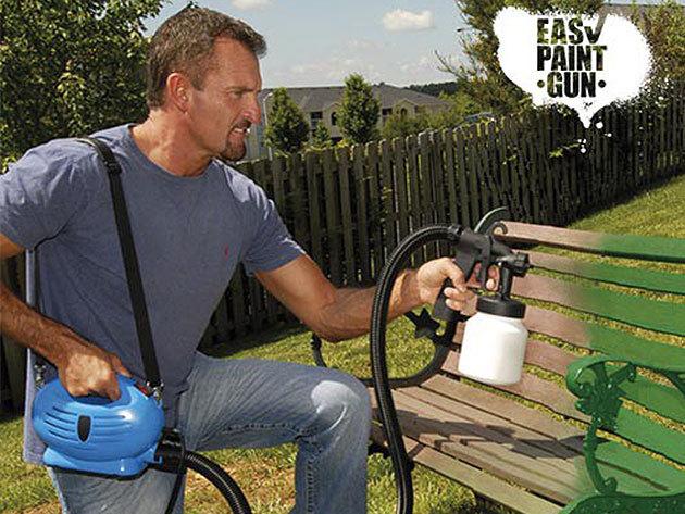 Festékszóró felszerelés - Easy Paint Gun! Vásárold meg a teljes szettet szuper áron és fess gyorsan, kényelmesen!