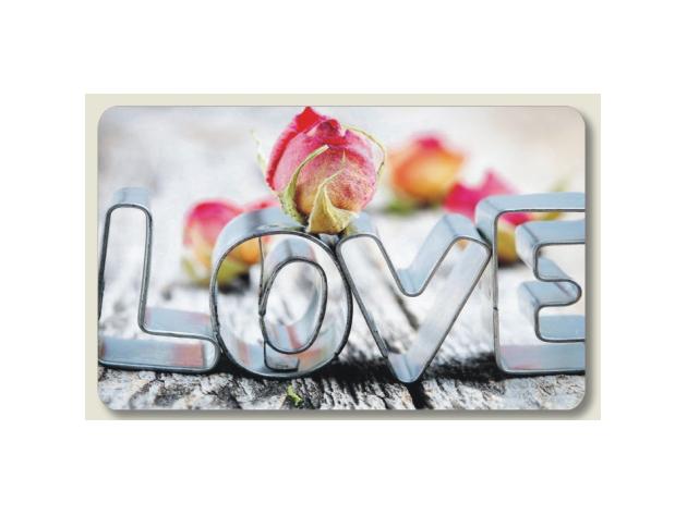 Love 2 lábtörlő