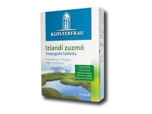 Izlandi zuzmó szopogatós tabletta 24db köhögésre