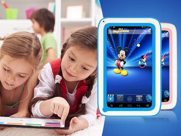 """Tablet (AM737) gyermekfelügyeleti szoftverrel, 7""""-os kijelzővel, Android 4.2.2 operációs rendszerrel"""