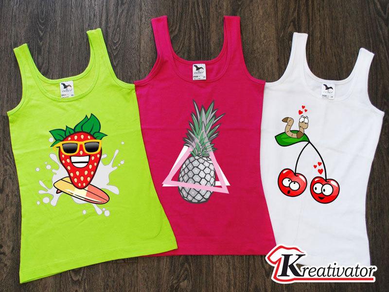 Saját mintás póló készítés online tervezőben férfi és női trikóra és pólóra tetszőleges nyomattal a Kreativator.hu jóvoltából