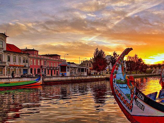 Portugália Velencéje - fedezd fel a Portótól mindössze 1 óra távolságra lévő- Aveiro városát!  2-3 vagy 4 éjszaka szállás reggelivel 2 fő részére