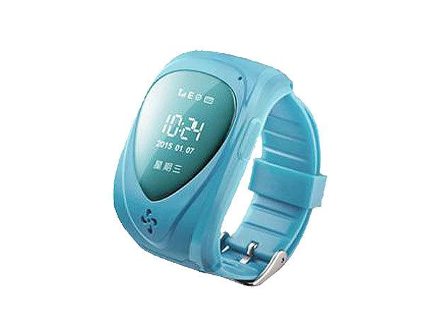 Okosóra gyerekeknek GPS jeladóval - kék