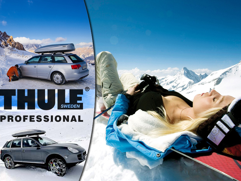Indulj síelni kényelemben telepakolt autóval is, a Thule tetőboxaival! Bérlés és felszerelés 53% kedvezménnyel.
