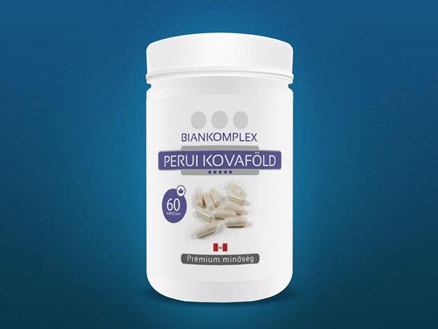 Prémium perui kovaföld – 60 darab kapszula