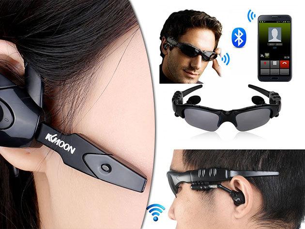 EDR Bluetooth headset vagy napszemüvegbe épített Bluetooth headset mikrofonnal, hogy vezetés vagy munka közben is könnyen telefonálhass