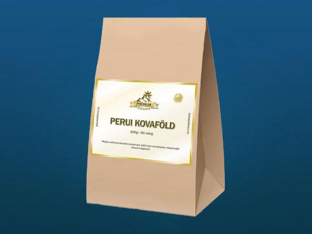 Prémium perui kovaföld – 200 gramm/50 adag