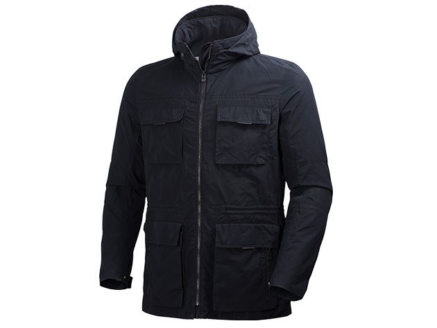 Helly Hansen ASK SPRING PARKA BLACK XXL (62490_990-2XL)