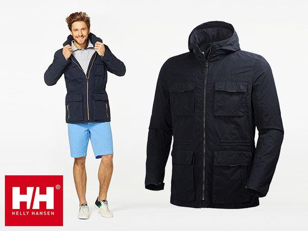 Helly Hansen ASK SPRING PARKA vízálló, lélegző átmeneti kabát férfiaknak - prémium minőség, üzleti elegancia - állítható derékkal és mandzsettával (S-XXL)