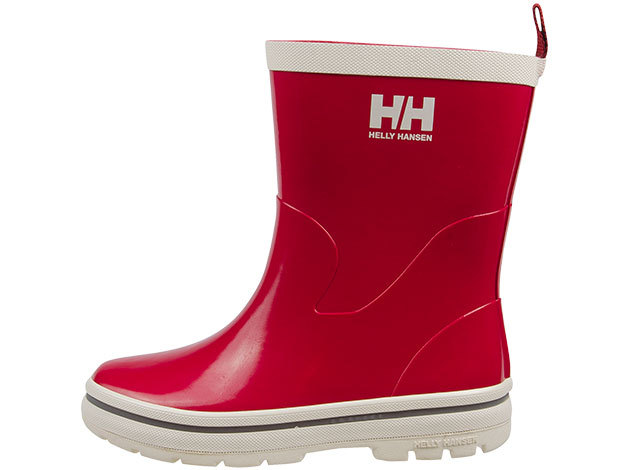 Helly Hansen JK MIDSUND RED/OFF WHITE/SILVER REFL EU 33/US 2 (10862_162-2)