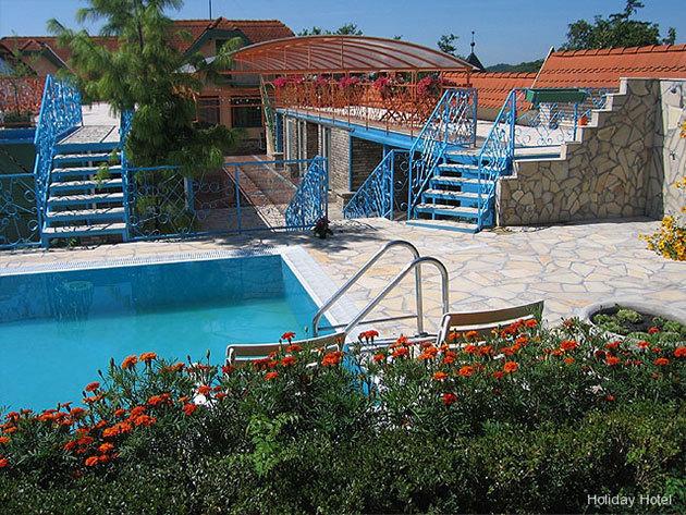 Holiday Hotel Tihany*** 4 nap / 3 éj szállás október 15-ig 2 fő részére (+ gyermeknek 8 éves korig ingyenes), félpanziós ellátással