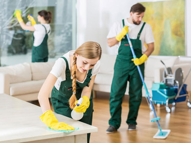 Nagytakarítás otthon vagy az irodában - 50, vagy akár 100 négyzetméteres területen, profik által