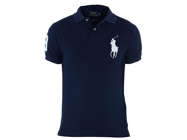 Ralph Lauren póló kék - L