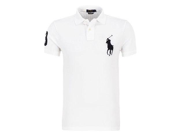 Ralph Lauren póló fehér - L - AZONNAL ÁTVEHETŐ