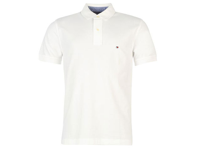 Tommy Hilfiger New Polo Shirt - classic white - L
