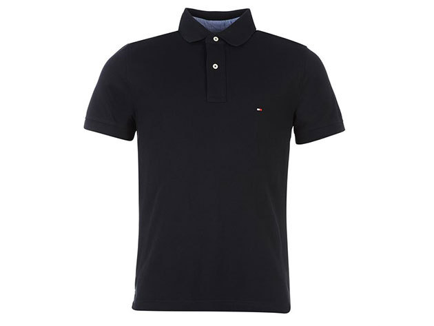 Tommy Hilfiger New Polo Shirt - midnight blue - S