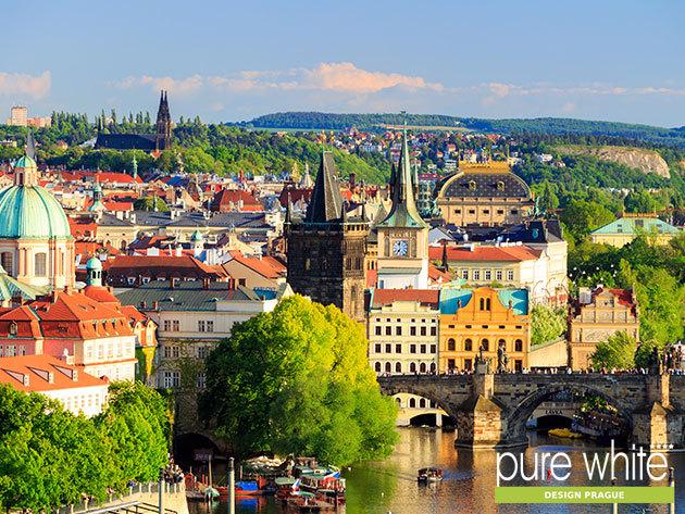 Prágai élményvarázs! 3 vagy 4 nap szállás reggelivel 2 főre a modern Pure White Design Hotelben**** novembertől márciusig