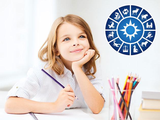 Gyermek horoszkóp, szülő jelenlétében (kb 1,5 óra) - ha tudni szeretnéd, hogy milyen sport, iskola vagy hobbi javasolható kicsinyednek... (előre egyeztetett budapesti helyszínen)