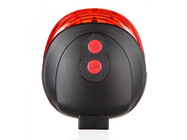 e6fef0ca178e LED-es kerékpár világítás - dizájnos küllő lámpa és lézeres biztonsági lámpa