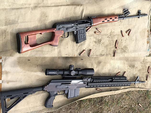 Karabélyos bunker lövészet /AK47, vagy Buschmasters, vagy Dragunov fegyverrel 30 lövés
