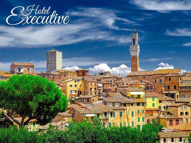Toszkána, Siena, Hotel Executive **** - szállás 2-7 éjszakára 2 fő részére reggelis vagy félpanziós ellátással