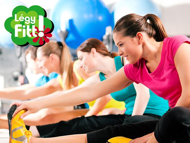 Fitness bérlet 1 hónapra NŐKNEK (16 óra előtt), mely korlátlanul felhasználható a Légy Fitt Mozgáscentrum edzőtermében