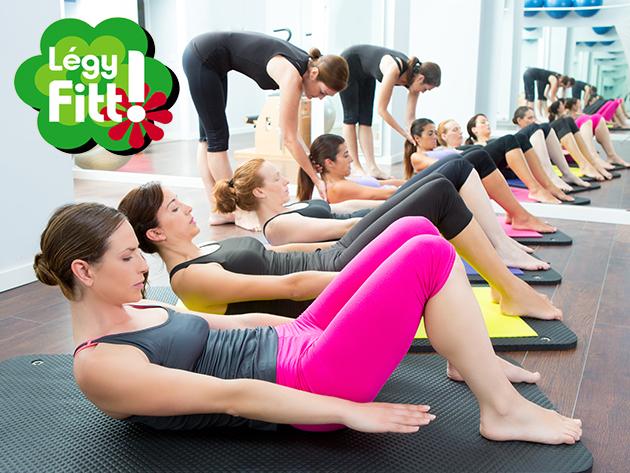 Fitness bérlet 1 hónapra NŐKNEK (16 óra előtt), mely korlátlanul felhasználható a Légy Fitt Mozgáscentrum edzőtermében és a csoportos órákon