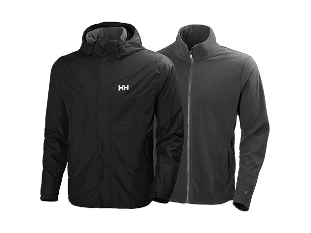 Helly Hansen HUSTAD CIS JACKET BLACK XXL (62467_990-2XL)