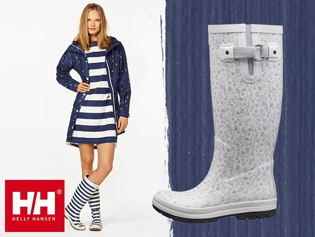 Helly Hansen W VEIERLAND női gumicsizma különleges dizájnban - kényelmes, strapabíró, divatos