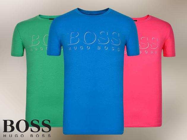 HUGO BOSS rövid ujjú férfi pólók 100% pamutból, S-XXL méretben / tökéletes ruhadarabok német precizitással