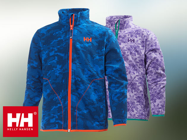 Helly Hansen JR LEGEND FLEECE JACKET polár kardigán fiataloknak az őszi-téli napokra (128-176 méret) - divatos, strapabíró és kényelmes - Iskolakezdési akció: 30% azonnali kedvezmény