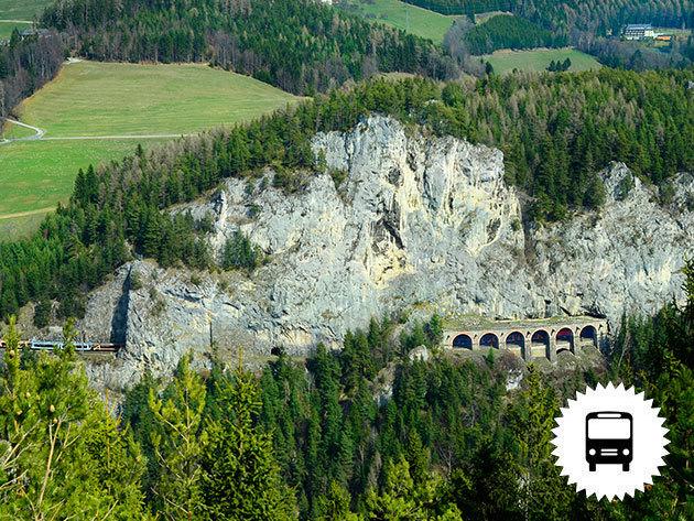 Ausztria: Semmeringi non-stop buszos kirándulás magyar idegenvezetéssel szeptemberi és októberi hétvégéken / fő