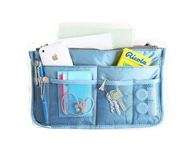 Minőségi, praktikus táskarendező - VILÁGOSKÉK